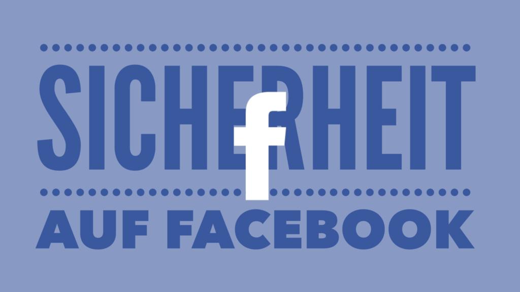 Sicherheitseinstellungen auf Facebook