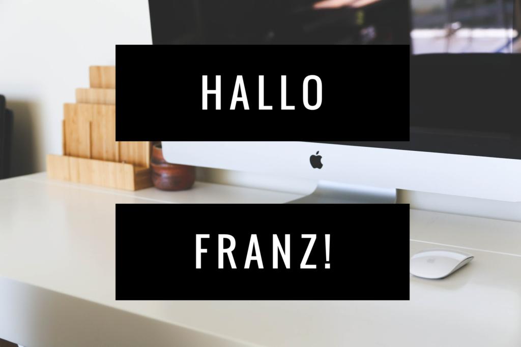 Franz kann's!