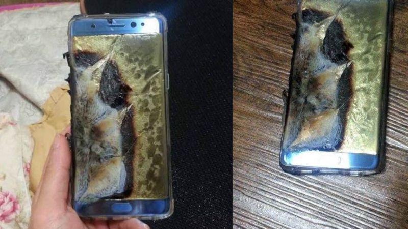 Explodierende Samsung Note 7