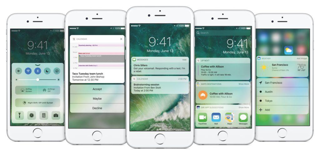 Ein Tipp zum iOS10 Startscreen