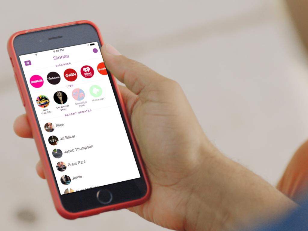 Der neue Hype: Storys auf Social Medias