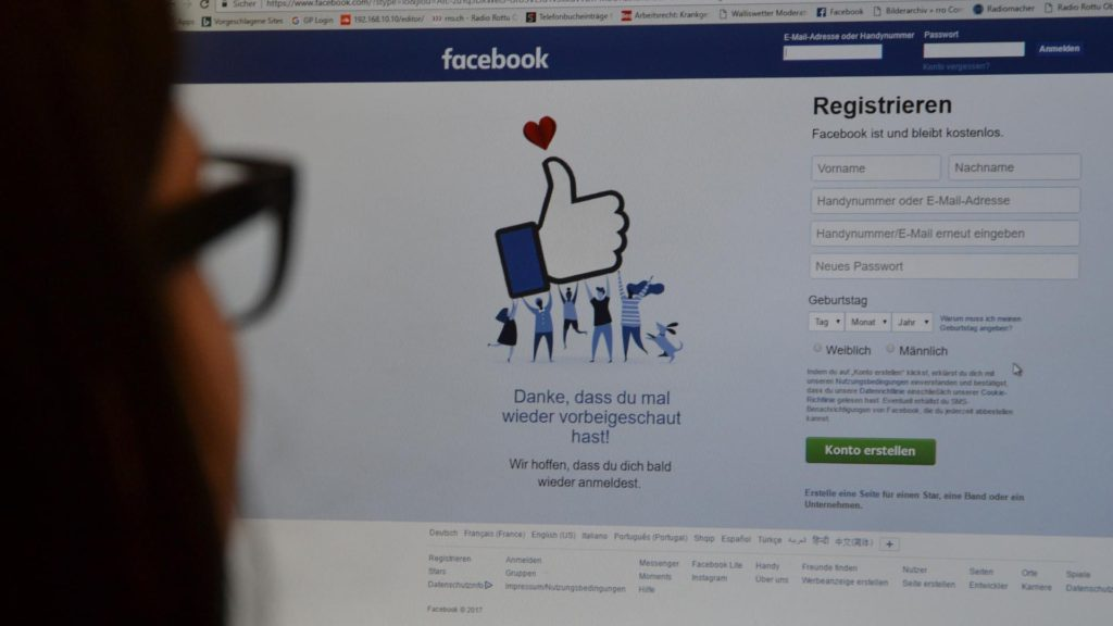 Hackangriffe auf Facebook