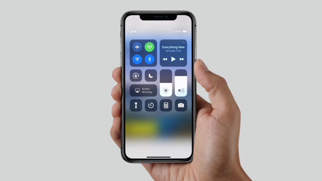 Touch Bar im iPhone X
