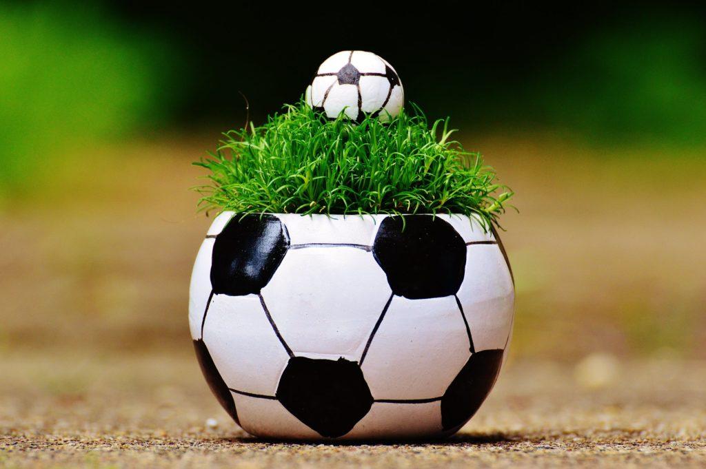 WM-Fussball-Ball und Technik