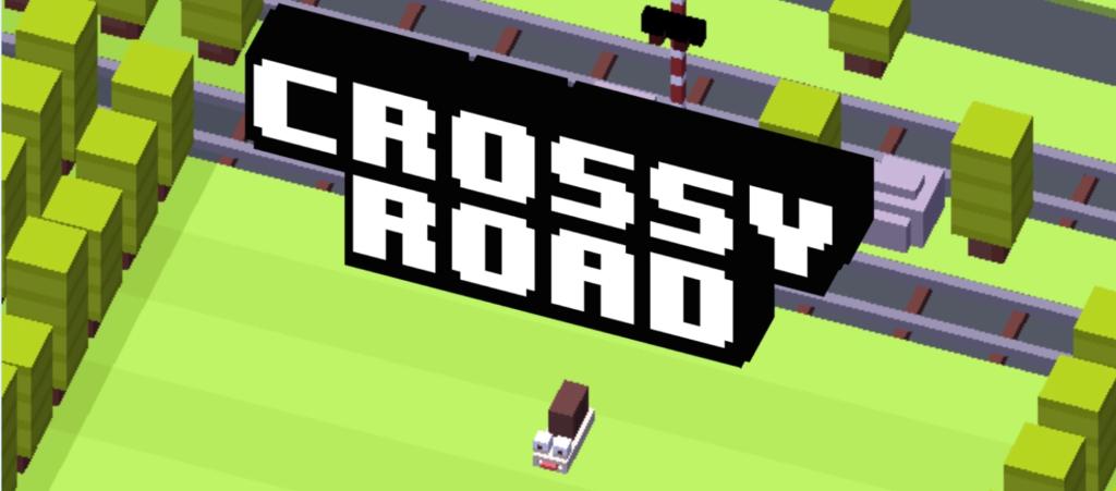 1: Crossy Road – Spiel kann süchtig machen