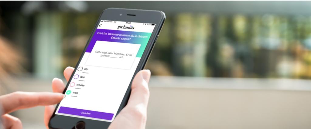 Uni Zürich lanciert App zum Schweizerdeutschen