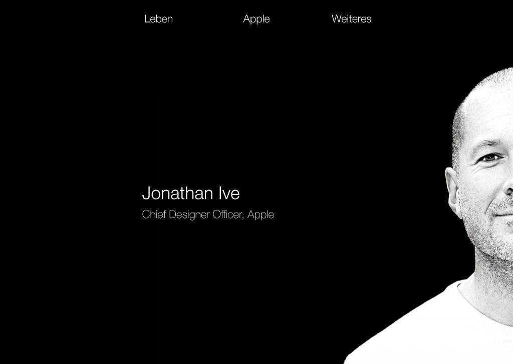 Jony Ive und sein Leben. Eine kurze Übersicht zu seinem Leben und Wirken bei Apple.