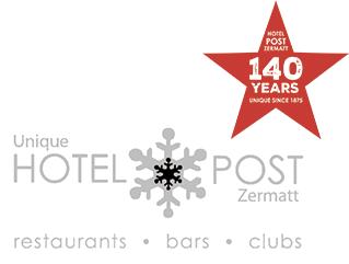 Unique Hotel Post in Zermatt.
