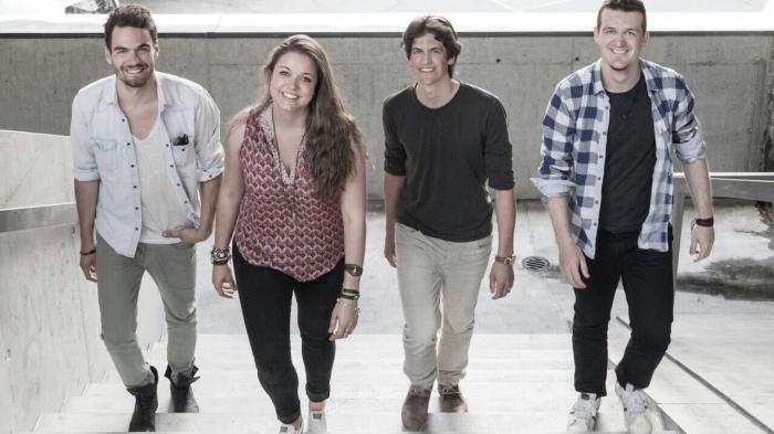 Die vier jungen Zermatter starten mit einem neuen Bandnamen durch.