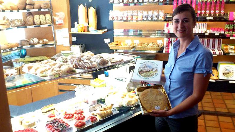 Die Bäckerei Hörnli in Zermatt punktet mit frischen Produkten.