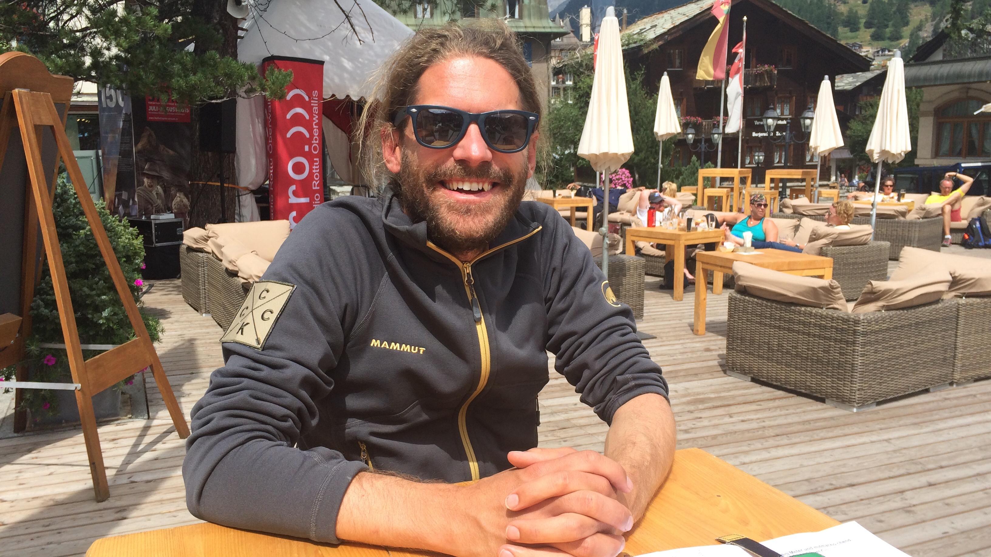Marco Godat ist im OK des Matterhorn Eagle Cups und freut sich auf den Event.