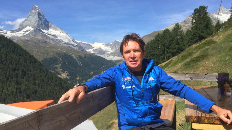 Franz Schwery, Bergführer in Zermatt
