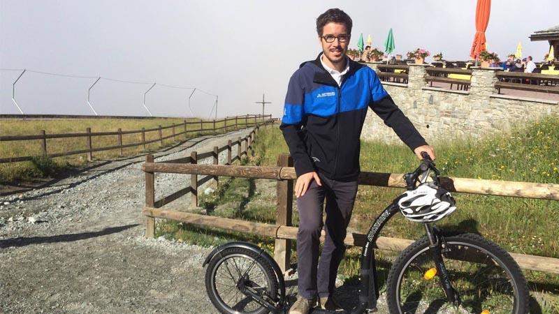 Martin Niederberger, Medien verantwortlicher der Zermatt Bergbahnen.