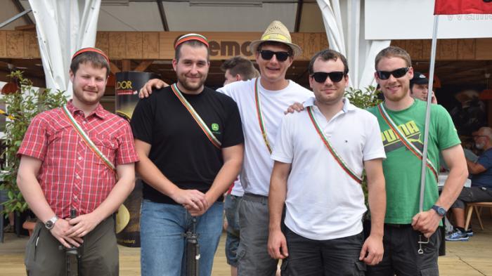 Der Akademikertag am Eidgenössischen Schützenfest lockte viele Schützen aus der ganzen Schweiz nach Raron.