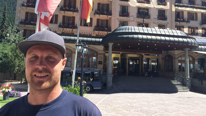 Aldo Balatti ist der Geschäftsführer des Igludorfes in Zermatt.